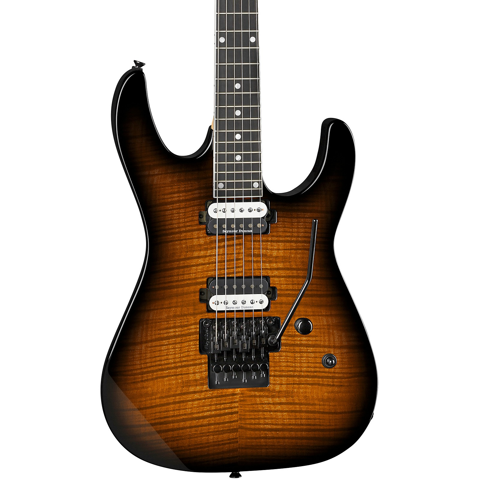 Dean Modern 24 Select Flame Maple with Floyd Electric Guitar