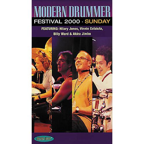 Hudson Music Modern Drummer Festival 2000 - Sunday Video