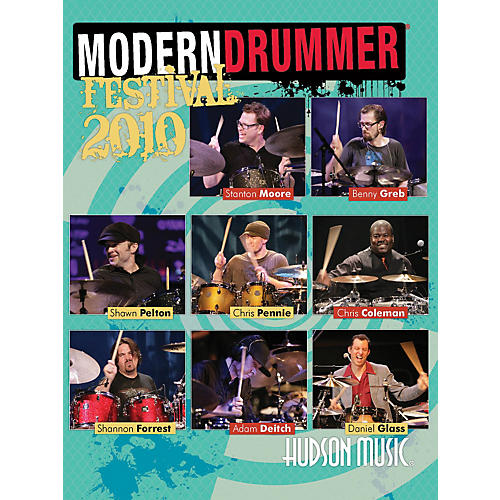 Hudson Music Modern Drummer Festival 2010 2-DVD Set