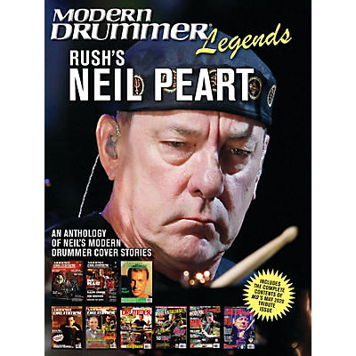 Modern Drummer Modern Drummer Legends: Rush's Neil Peart - An Anthology of Neil's Modern Drummer Cover Stories