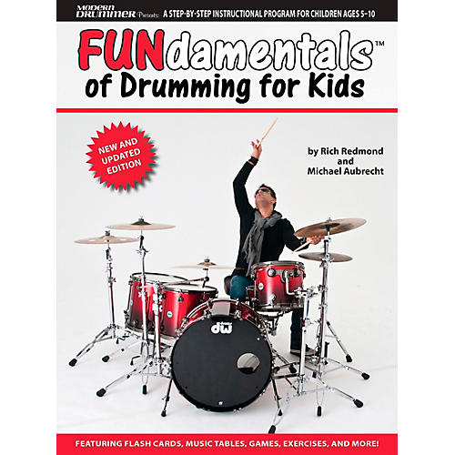 Hal Leonard Modern Drummer Presents Fundamentals of Drumming for Kids