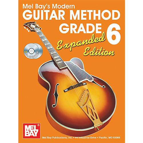 Mel Bay Modern Guitar Method Expanded Edition Vol. 6 Book/2 CD Set