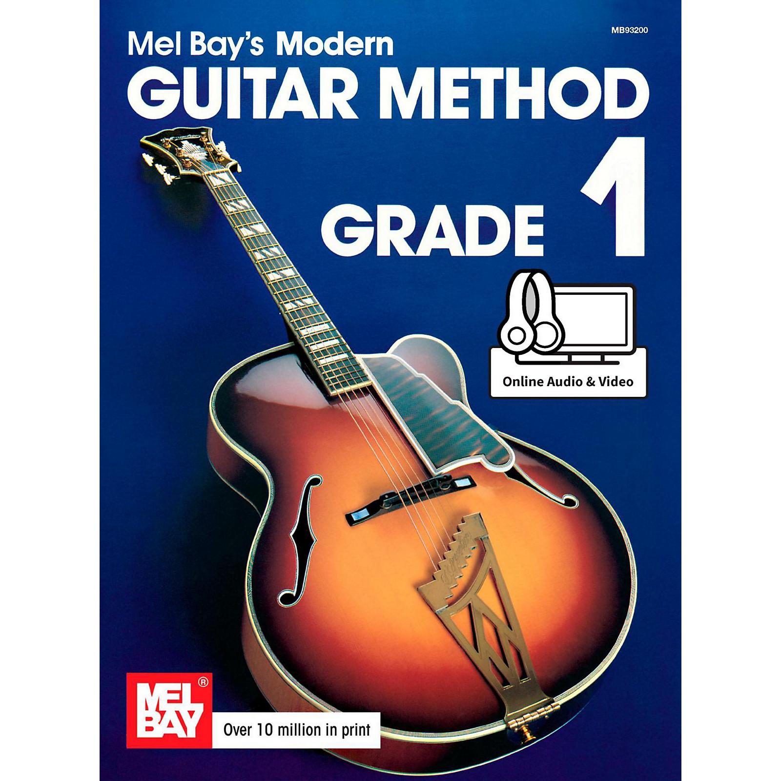 Mel Bay Modern Guitar Method Grade 1 Book