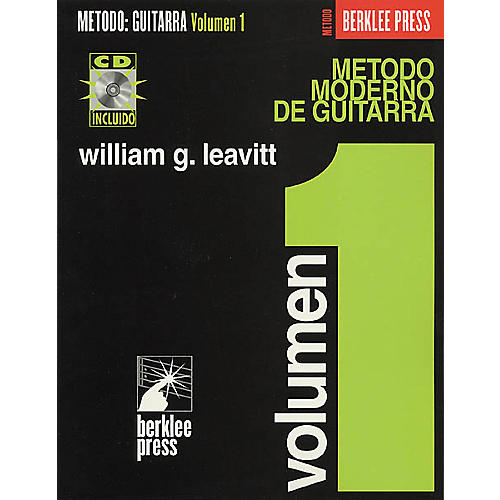 Berklee Press Modern Method for Guitar (Spanish Edition) - Volume 1 (Book/CD)
