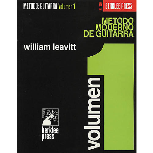 Berklee Press Modern Method for Guitar (Spanish Edition) - Volume 1 Book