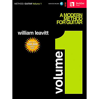 Hal Leonard Modern Method for Guitar Volume 1 (Book/CD)