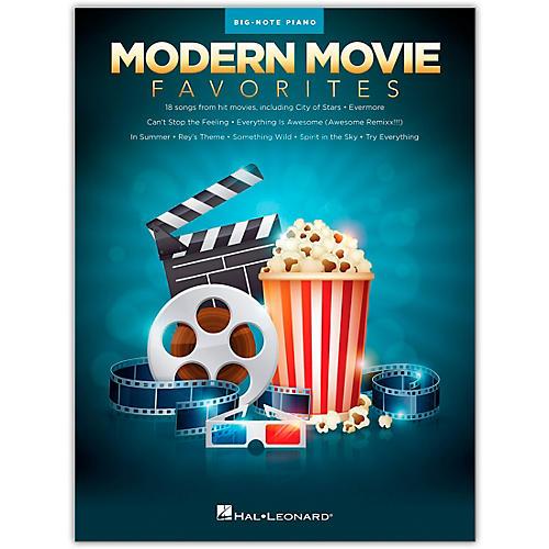 Hal Leonard Modern Movie Favorites for Big Note Piano