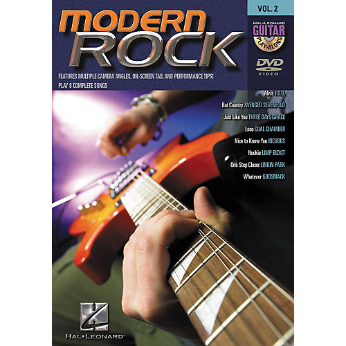Hal Leonard Modern Rock Guitar Play-Along Series Volume 2 DVD