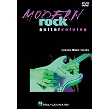 Hal Leonard Modern Rock Guitar Soloing Instructional/Guitar/DVD Series DVD Written by Danny Gill