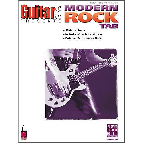 Cherry Lane Modern Rock Guitar Tab Songbook
