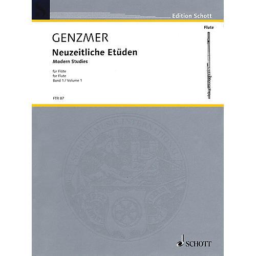 Schott Modern Studies for Flute - Volume 1 Schott Series