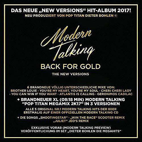 Alliance Modern Talking - Back For Gold