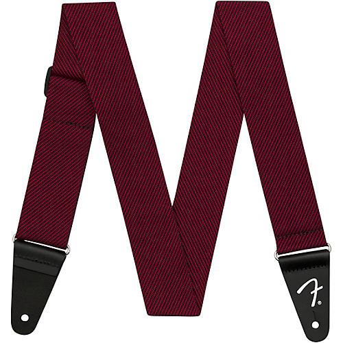 Fender Modern Tweed Strap Black and Red