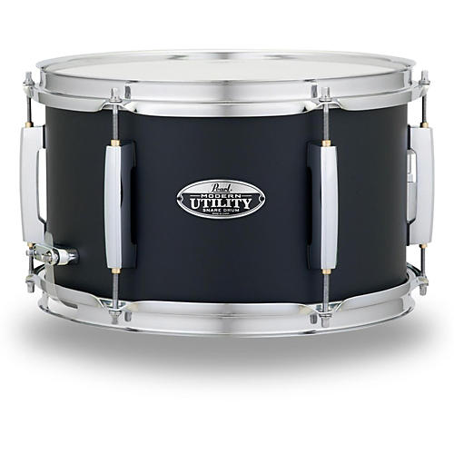 pearl modern utility maple snare drum 12 x 7 in satin black musician 39 s friend. Black Bedroom Furniture Sets. Home Design Ideas