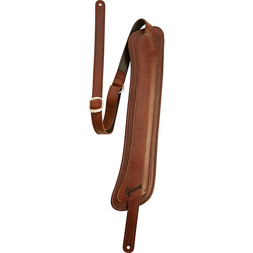 Gibson Modern Vintage Leather Strap with Memory Foam Pad