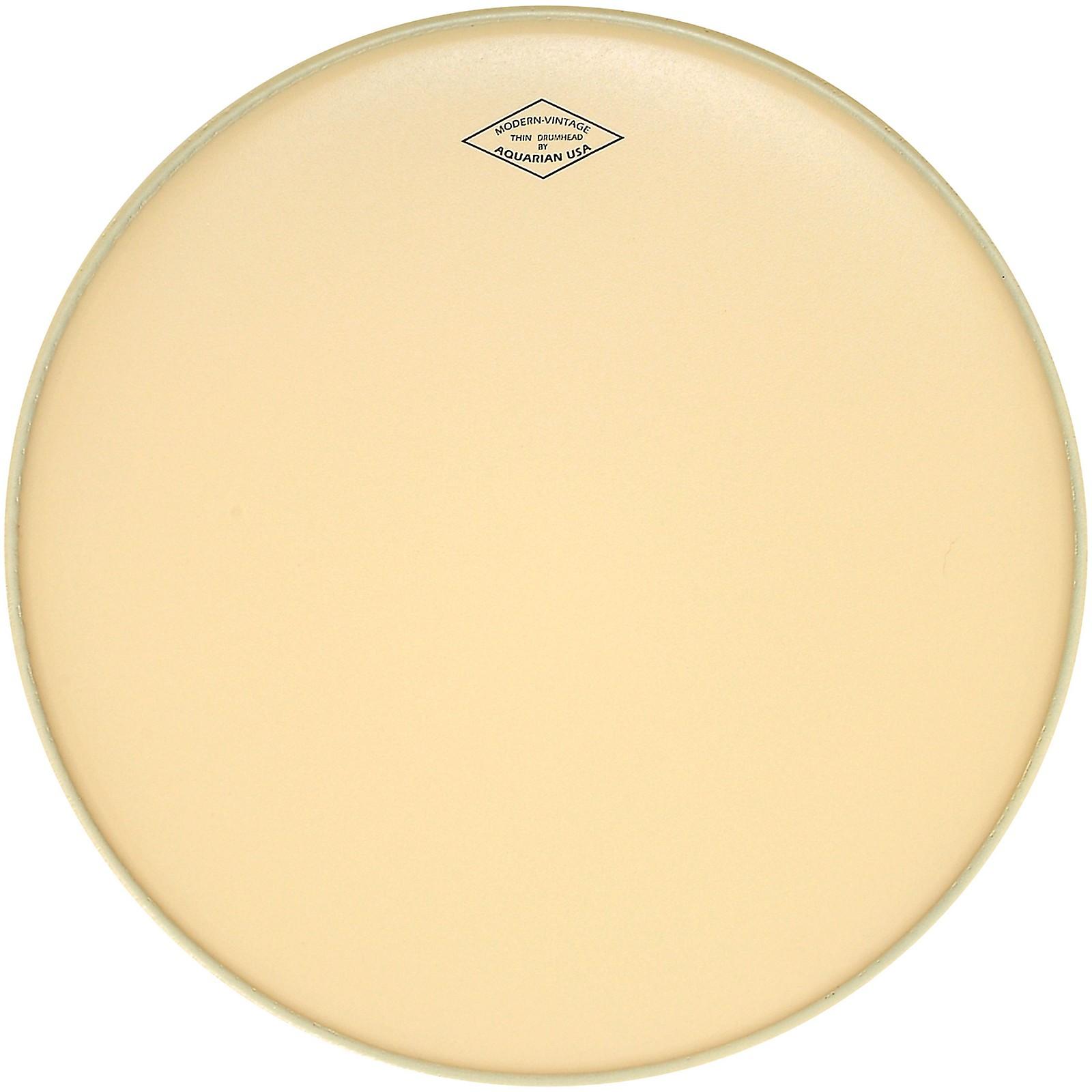 Aquarian Modern Vintage Thin Bass Drum Head