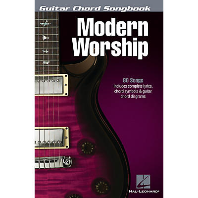 Hal Leonard Modern Worship - Guitar Chord Songbook Guitar Chord Songbook Series Softcover Performed by Various