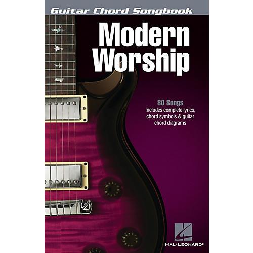Hal Leonard Modern Worship - Guitar Chord Songbook Guitar Chord Songbook Series Softcover Performed by Various