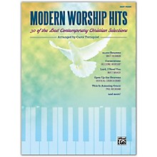 Alfred Modern Worship Hits Easy Piano Songbook