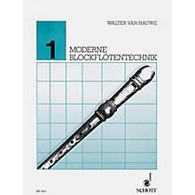 Schott Moderne Blockfloetentechnik V. 1** Schott Series