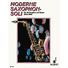Schott Moderne Saxophon-Soli - Alto (German Text) Schott Series