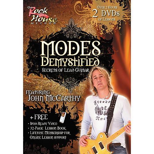 Rock House Modes Demystified - Secrets of Lead Guitar Featuring John McCarthy (2-DVD Set)