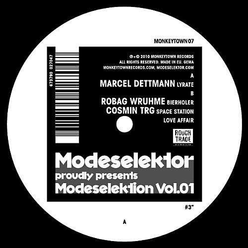 Alliance Modeselektor - Modeselektion 1 Number 3