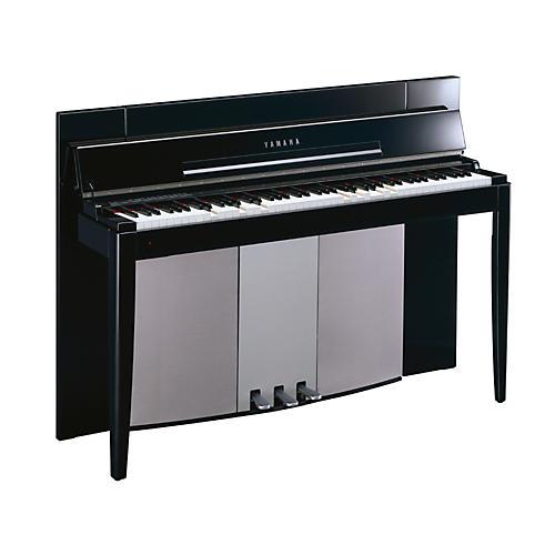 Yamaha Modus Slim-Line Lifestyle Digital Piano w/ Moving Keys, Bench and Panel