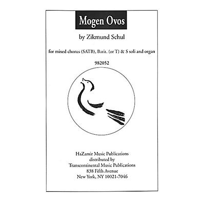 Transcontinental Music Mogen Ovos SATB composed by Zikmund Schul