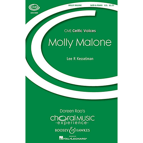Boosey and Hawkes Molly Malone (CME Celtic Voices) SATB arranged by Lee Kesselman
