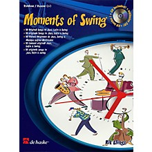 De Haske Music Moments of Swing (Trombone) De Haske Play-Along Book Series Composed by Rik Elings