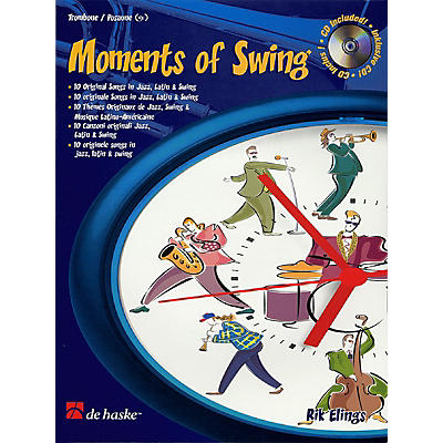 De Haske Music Moments of Swing (Trombone) De Haske Play-Along Book Series Composed by Rik Elings