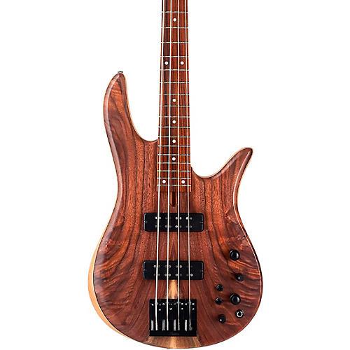 Fodera Monarch 4 Standard Electric Bass Clear Satin Finish