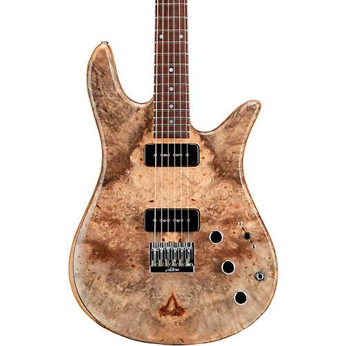 Fodera Guitars Monarch P90 2 Electric Guitar Clear Satin Finish