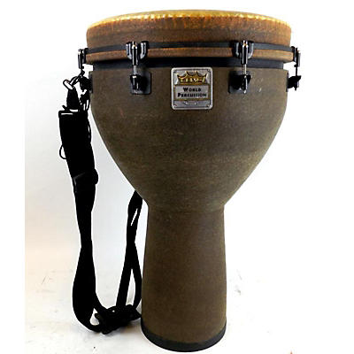 Remo Mondo Designer Series Key-Tuned Djembe Earth 27 X 16 In Djembe