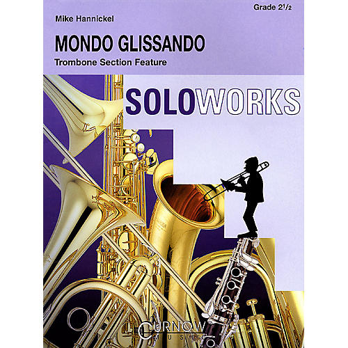 Curnow Music Mondo Glissando (Grade 2.5 - Score Only) Concert Band Level 2.5 Composed by Mike Hannickel