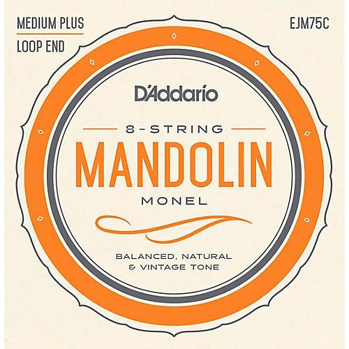 D'Addario Monel Mandolin Strings Medium Plus