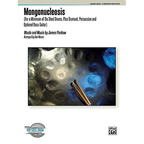 Alfred Mongonucleosis Steel Drum Ensemble Score & Parts