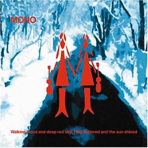 Alliance Mono - Walking Cloud & Deep Red Sky Flag Fluttered & Sun