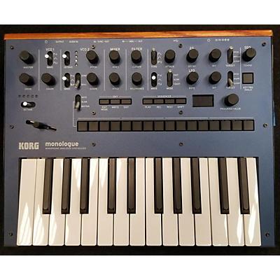 Korg Monologe Monophonic Analogue Synthesizer Synthesizer