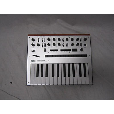 Korg Monologue Silver Synthesizer