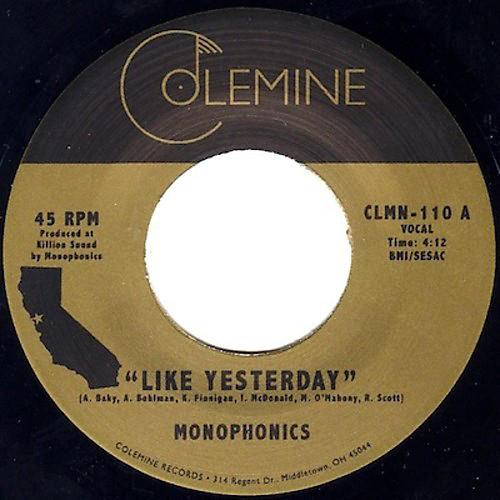 Alliance Monophonics - Like Yesterday