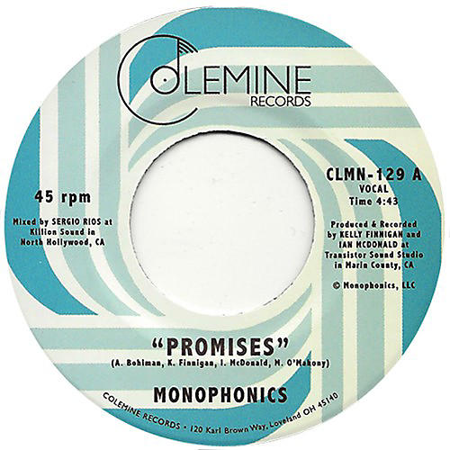 Alliance Monophonics - Promises