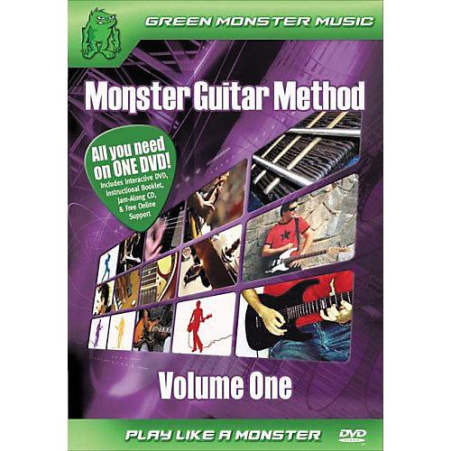 Alfred Monster Guitar Method Vol. 1 Dvd/Cd Set