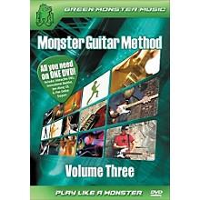 Alfred Monster Guitar Method Vol. 3 Dvd/Cd Set