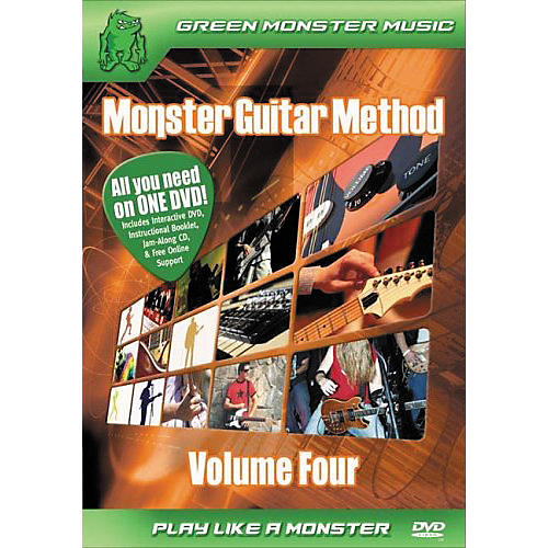 Alfred Monster Guitar Method Vol. 4 Dvd/Cd Set