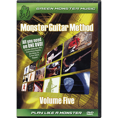 Alfred Monster Guitar Method Vol. 5 Dvd/Cd Set