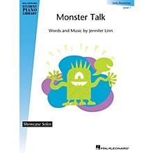 Hal Leonard Monster Talk Piano Library Series by Jennifer Linn (Level Early Elem)