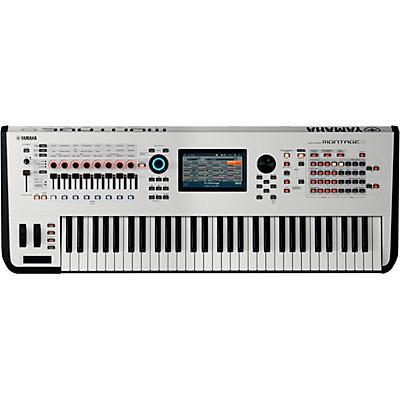 Yamaha Montage 6 61-Key Flagship Synthesizer White