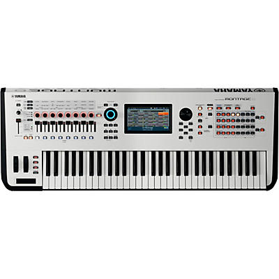 Yamaha Montage 6 61-Key Flagship Synthesizer White